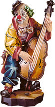 Clown Bassist