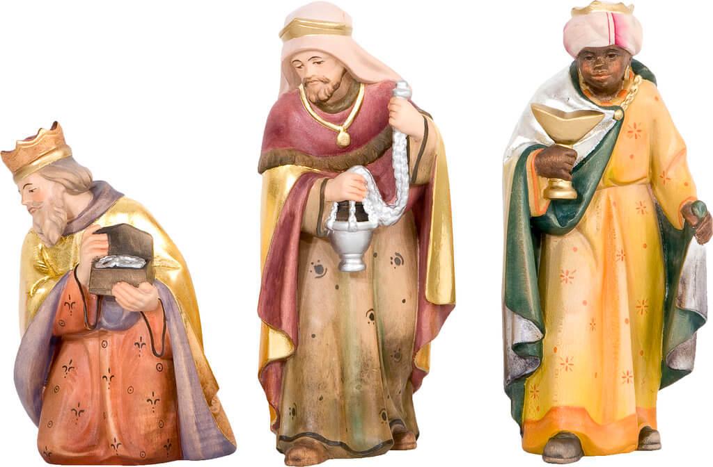 heilige drei könige  krippenfigurenset der südtirolkrippe